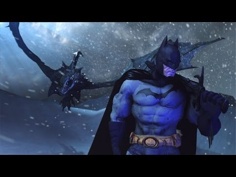 Batman VS Skyrim Dragon Batman Parody Animation SFM