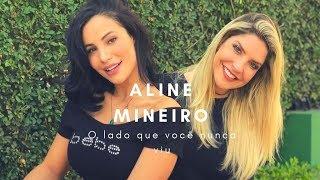 """ALINE MINEIRO: """"EU TIVE DEPRESSÃO MAS SOFRI EM SILÊNCIO"""""""