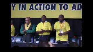 Struggle songs sung during ANC'S NGC