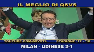 QSVS - I GOL DI MILAN - UDINESE 2-1 TELELOMBARDIA / TOP CALCIO 24