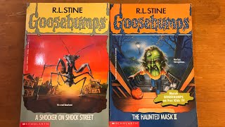 A Shocker On Shock Street & The Haunted Mask 2   Goosebumps Review-A-Thon