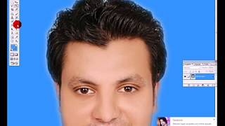 How To Clean your Face in Adobe Photoshop 7 0 (Urdu/Hindi)