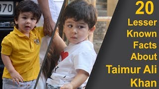 Taimur Ali Khan: 20 Lesser Known Facts About India