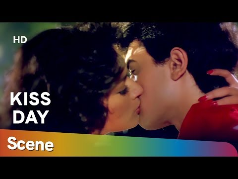 Xxx Mp4 Madhuri Dixit Amir Khan Kiss Scene From 90 S Movie Blockbuster Dil Valentine Special 3gp Sex