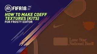 [FIFA 17] [FIFA18] How to Make Coeff Maps Tutorial  | Kit Modding Tutorial Pt 2/3