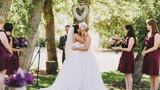Sarah + Laura ♥ Beautiful Lesbian Wedding ♥ Highlights Video