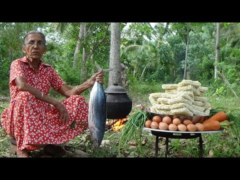 Download Lagu Tuna Fish Noodles - cooking 50 instant noodles in my village by Grandma MP3