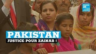 """Pakistan, """"justice pour Zainab !"""""""