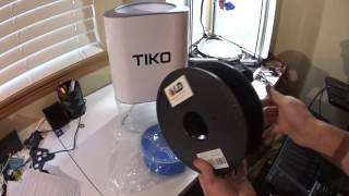 Beta Early Bird - Tiko 3d Printer Unboxing & Hardware Review