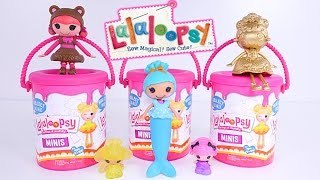Lalaloopsy Surprise Paint Buckets - Minis Style n