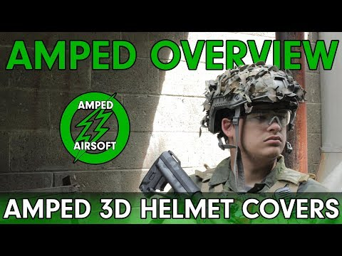Amped Overview - Amped Custom 3D Helmet Covers