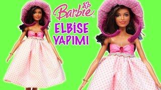 Barbie Oyuncak Bebek İçin Yazlık Kıyafet Yaptım   Nasıl Yapılır   Oyuncak Butiğim