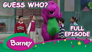 Barney 🎃 Guess Who? (Full Halloween Episode  )