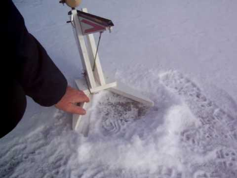 AUTOMATIC ICE FISHING TIP UP