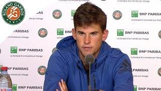 Roland-Garros 2016 - Press conference: Thiem / 1/4