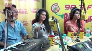 Neha Kakkar, Sonu Kakkar & Tony Kakkar UNPLUGGED for the FIRST TIME at the Radio Mirchi Studio
