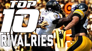 Top 10 Bitter Rivalries Throughout NFL History | NFL Films