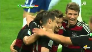 أهداف مباراة  ألمانيا V S البرازيل  HD تعليق رؤوف خليف