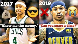 From MVP Candidate to FALLEN Star in Two Years... What Happened to Isaiah Thomas in the NBA?