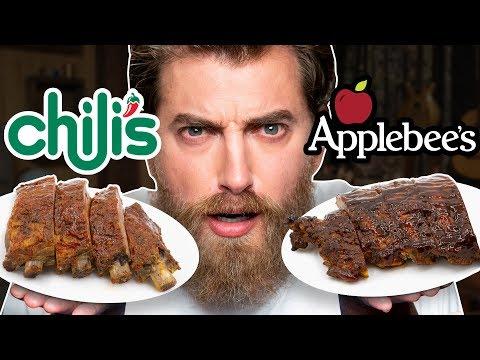 Applebees Vs. Chili s Taste Test FOOD FEUDS