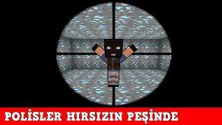 HIRSIZ VS POLİS #65 - Polisler Hırsızın Peşinde - Minecraft