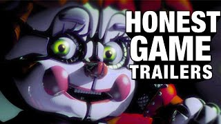 FIVE NIGHTS AT FREDDY'S - SISTER LOCATION (Honest Game Trailers)