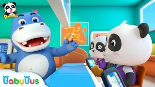 Spring Vacation with Baby Panda | Kids Pretending Play | Profession Song for Kids | BabyBus