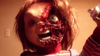 CHUCKY CHILD'S PLAY 3 TALKING DOLL PREVIEW