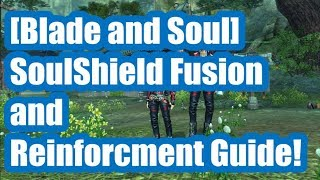 [Blade and Soul] In-Depth Soul Shield Fusion and Reinforcement Guide!