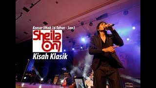[LIVE-3on3] Konser Terbaik - Sheila On 7 - Kisah Klasik Konser 16 Tahun