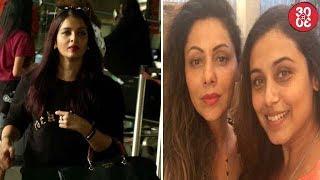 Aishwarya To Start Shooting For 'Fanney Khan' | Rani Mukherjee Catches Up With Gauri Khan