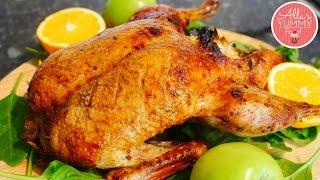 How to Make Roasted Duck With Apples | Жареная утка с яблоками