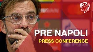 Liverpool vs. Napoli | Jurgen Klopp