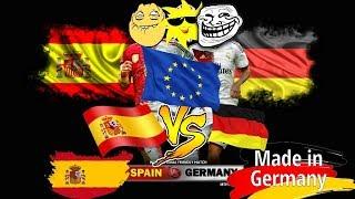 Испания или Германия сравнение.