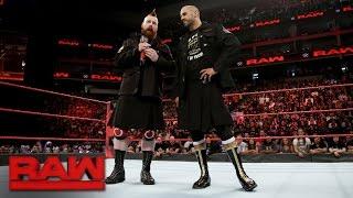 Cesaro & Sheamus lash out at the WWE Universe: Raw, May 1, 2017