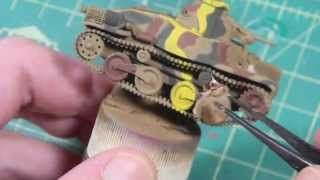 Dragon 1/72 Ha-Go Japanese Tank Build Part 2