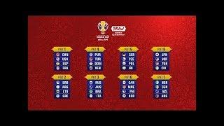 Draw Procedure of the FIBA Basketball World Cup 2019