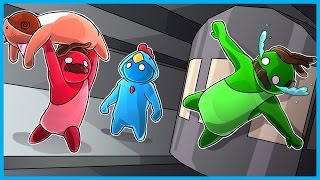 THE MOST I'VE EVER LAUGHED...EVER!! - Gang Beasts Funny Moments Ep. 2!