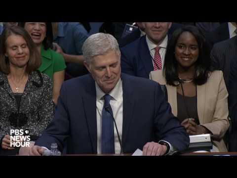 Watch Judge Neil Gorsuch s opening statement