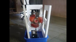 How to Make an Air Cooler at Home - Easy Way - In 300 Rs PART 1