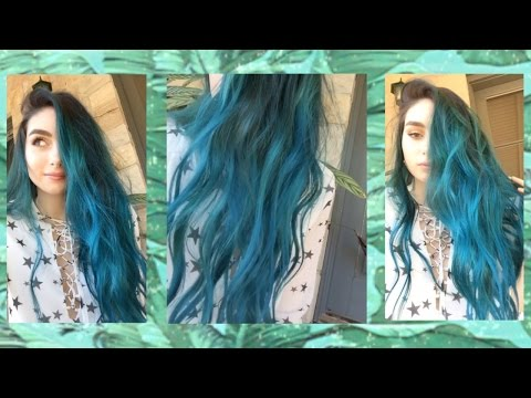 Xxx Mp4 Dyeing My Hair Blue Vlog Ft TheFoxAndTheHair ToniaLives 3gp Sex