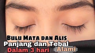 Alis Dan Bulumata Tebal Dan Panjang Alami(give Away Closed)