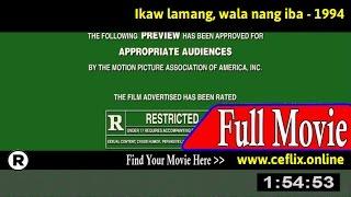 Watch: Ikaw lamang, wala nang iba (1994) Full Movie Online