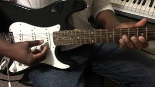 The New Masquerade Theme Guitar Line from the Eddie Quansa track