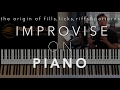 Download Video Download Improvising on Piano | Licks, Riffs, Fills and Pattern Fundamentals 3GP MP4 FLV