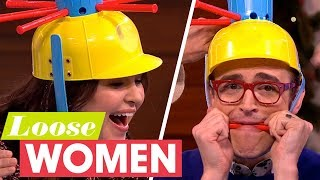 Tom And Giovanna Fletcher Play A Game Of Wet Head! | Loose Women