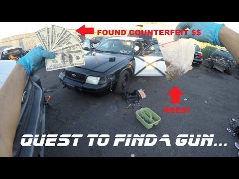 Searching Police Cars Found Counterfeit Money Ford Crown Vic Cop Auto Explore