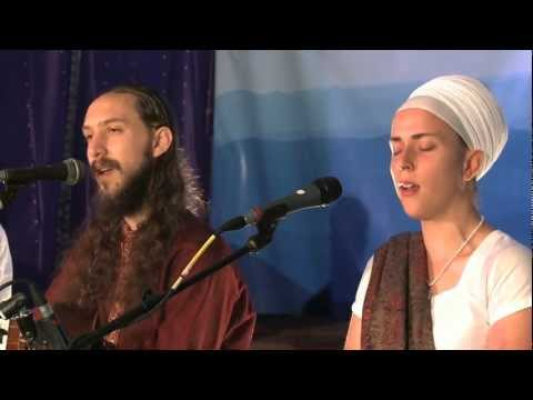 watch Ram Dass and Nirinjan Kaur Sing