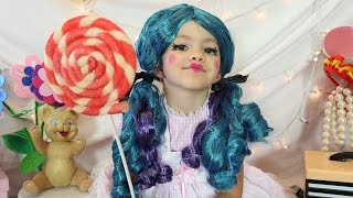 Cute Doll Costume Makeup