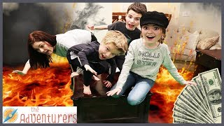 Floor Is Lava - Lava Monster! Last To Leave Temptations Part 3 / That YouTub3 Family